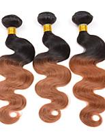 3 pezzi Ondulato naturale Tessiture capelli umani Indiano Tessiture capelli umani Ondulato naturale