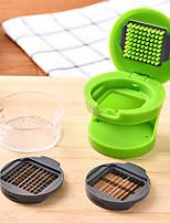1pcs New Kitchen Ginger Garlic Manual Press Cutter Crusher Cooking Tool Plastic Garlic presses Blenders peeler