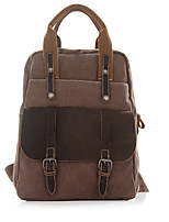 Unisex Canvas Formal / Sports / Outdoor / Office & Career / Shopping Backpack