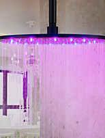 Top Spray Shower Nozzle Color Temperature Control (16  Inch)