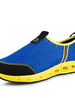 Men's Shoes Tulle Athletic / Casual Sneakers / Casual Sneaker Flat Heel Others / Slip-on / Split JointBlack / Blue /