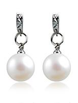 Forme de Cercle,Bijoux 1 paire A la Mode Argent Alliage / Imitation de perle Mariage / Soirée / Quotidien / Décontracté / Sports