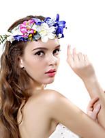 Dame Polyester / Stof Medaljon-Bryllup / Speciel Lejlighed / Udendørs Krans 1 Stykke Multifarve Blomst 55-60cm