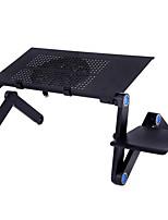 cuaderno cmpick mesa de aleación de aluminio plegable de escritorio de la computadora de radiación de calor del ventilador del radiador de