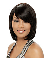 Black Color Cosplay Wigs Heat Resistant Synthetic Wholesale Short Straight Party Cosplay Wig