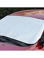 automoción suministra algodón de la perla bloque de nieve del coche al sol sombra engranaje delantero de aislamiento protector solar