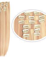 barato grampo de cabelo em linha reta em extensões do cabelo 22