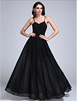 TS Couture® Formal Evening Dress A-line Spaghetti Straps Floor-length Chiffon with