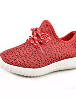 Women's Shoes Canvas Platform Comfort Fashion Sneakers Outdoor / Casual Black / Red / White