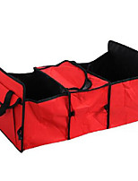 Three Grid Storage Box Collapsible Car Backing Waterproof Pouch NXY043
