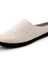 Men's Shoes Fabric Casual Loafers & Slip-Ons Casual Walking Flat Heel Others Blue / Beige / Khaki