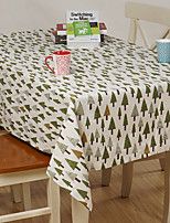 Mélange Poly/Coton Rectangulaire Nappes de table