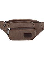 Men-Formal-PVC-Waist Bag-Brown