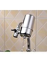 Traditionell Standard Spout 3-Loch-Armatur Wasserfall with  Keramisches Ventil Einhand Ein Loch for  Edelstahl , Armatur für die Küche