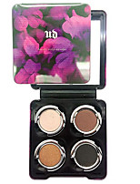 4 couleurs fard à paupières nude comestic une beauté maquillage durable des couleurs aléatoires