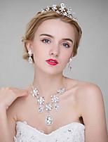 Dame Legering Headpiece-Bryllup Diademer 3 deler