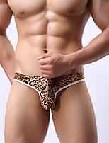 Men's underwear Tintin set Men's underwear appeal Leopard thong