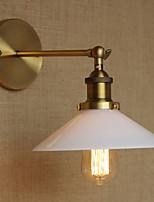 glazen lampenkap Wandkandelaars, traditionele / klassieke E26 / e27 metal