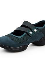 Na míru-Dámské-Taneční boty-Taneční tenisky-Syntetika-Kubánský-Černá / Zelená / Červená