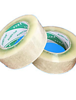 4.5cm * 2.5cm Transparent Packaging Tape Sealing Carton Packing Durable High Viscosity