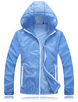 Outdoor  Tops Camping & Hiking / Leisure Sports / Cycling/BikeHigh Breathability / Ultraviolet Resistant / Windproof /