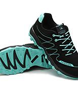 Black/Red Anti-Slip Rubber Running Shoes for Men
