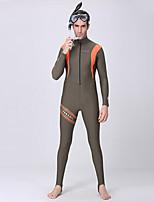 Others Women's / Men's Diving Suits Diving Suit Compression Wetsuits 2.5 to 2.9 mm Gray S / M / L / XL Diving