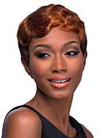 1B/Brown Color Cosplay Wigs Heat Resistant Synthetic Wholesale Short Curly Party Cosplay Wig