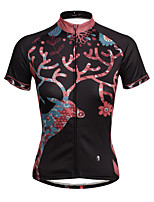 ilpaladinoSport Women Short Sleeve Cycling Jersey New Style Distinctive  DX630  Colour The Deer