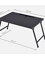 dobrar protable laptop stand preto / mesa fordable 60 * 40