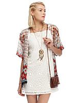 Heart Soul® Women's Round Neck 1/2 Length Sleeve Sweater & Cardigan Orange-12AA23066