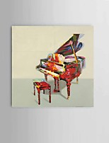 Modern Abstract 100%HandPainted Thick oil Knife Painting Decorative The Piano Wall Art Ready to Hang