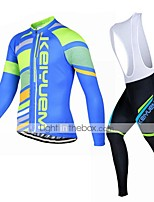 KEIYUEM Cycling Clothing Sets/Suits / Jerseys / Tights Unisex BikeBreathable / Insulated / Quick Dry / Dust Proof / Wearable / Back
