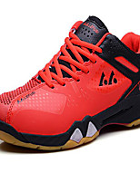 Men's Shoes Tulle Athletic Sneakers Athletic Sneaker Low Heel Lace-up Red / Royal Blue / Orange