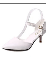 Women's Shoes PU Summer Heels Heels Casual Stiletto Heel Others Black / Pink / Beige