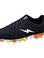 Men's Spring / Fall PU Athletic Flat Heel Others Black / Green / Orange Running