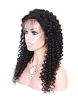 EVAWIGS 24INCH Hot Sale  Brazilian Human Virgin Hair Wig Full Lace Wig Natural Color Fashion Curly  Wig