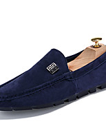 Men's Boat Shoes Casual/Drive/Office & Career/Party Fashion Suede Leather Slip-on Shoes