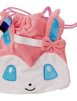 bolsa Pocket Monster PIKA PIKA Animé Accesorios Cosplay Rosa Pana