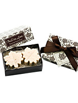 Recipient Gifts - Paris Love Fall in Love Leaf-Shaped Soap Baby Birthday Party Favors Wedding Favors