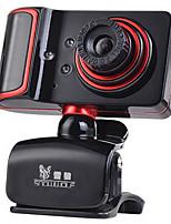 usb 2.0 webcam CMOS 1,3 milioni di 1280 * 960 45fps rosso / nero