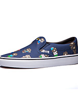 Vans x Line Friends Classics Slip-On Men's Shoes Canvas Outdoor / Athletic / Casual Sneakers Flat Heel