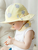 Girls Hats & Caps,All Seasons Cotton Blends Blue / Pink / Yellow