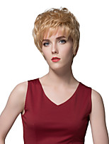 Cute Short Straight Human Hair Wigs For Women With The Great Quality