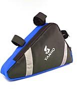 Bolsa para Quadro de BicicletaÁ Prova de Humidade / Camurça de Vaca á Prova-de-Choque / Vestível / Multifuncional / Suporte iPhone /