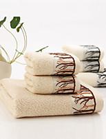 Serviette de bain-Jacquard- en100% Fibre de bambou-140*70cm(55