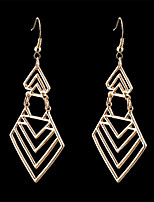 Punk Style Nightclub Exaggerated Fashion Luxury Geometric Earrings