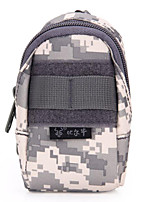 10 L Wristlet Bag Camping & Hiking Outdoor Multifunctional Gray 600D Polyester