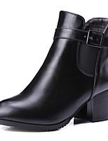 Women's Shoes   Spring/Fall/Winter/Bootie Heels/Boots Office & Career/Party & Evening/Casual Chunky Heel