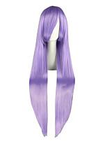 Gin TAmA-Sarutobi Ayame Light Purple 40inch Anime Cosplay Wig CS-035L